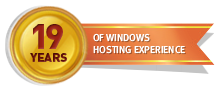 19 Years of Windows Hosting Experience