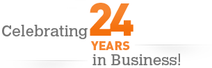 Celebrating 24 Years in Business!