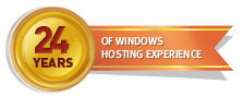 24 Years of Windows Hosting Experience
